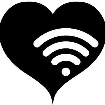 Wifi wireless heart by RetroFuchs