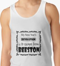 My New years Resolution is to Escape from Beeston Men's Tank Top