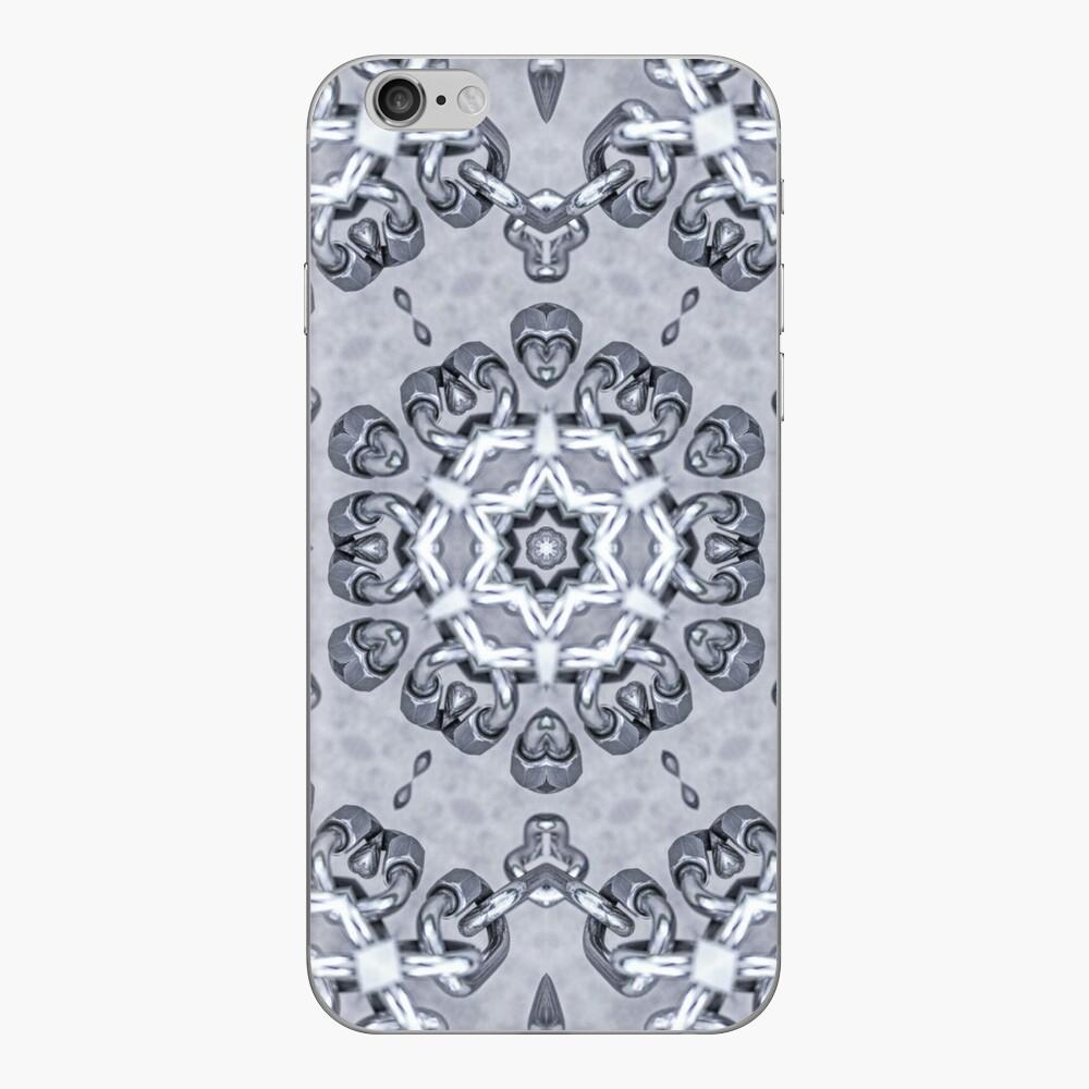 Steel Chain links pattern iPhone Skin