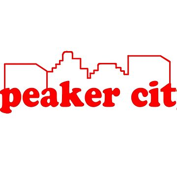 Speaker City - Old School Quote by everything-shop
