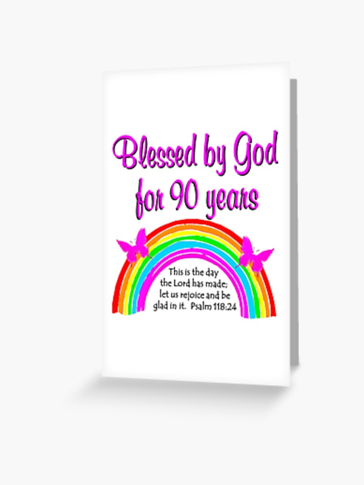 90TH BIRTHDAY BLESSINGS