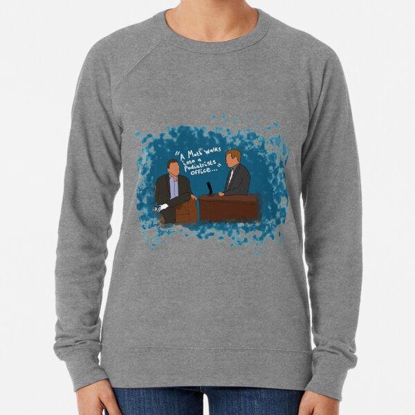 Norm Macdonald Moth Joke  Lightweight Sweatshirt