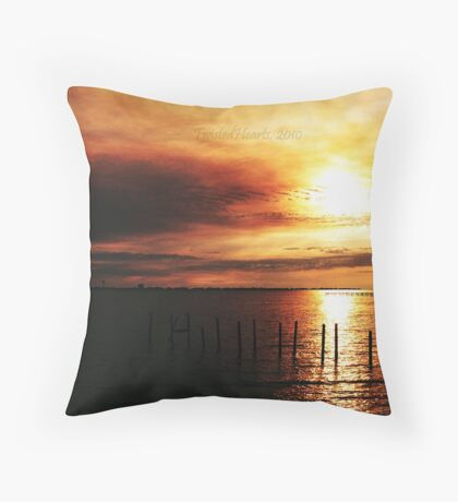 Send Me On My Way. Throw Pillow