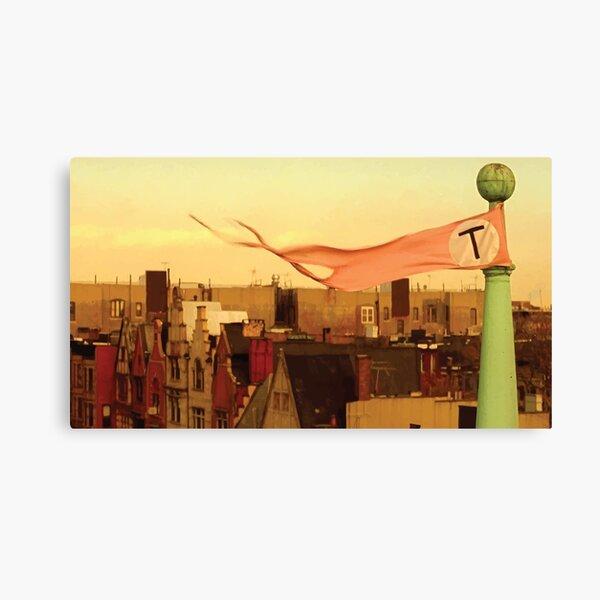 Tenenbaums Flag Canvas Print