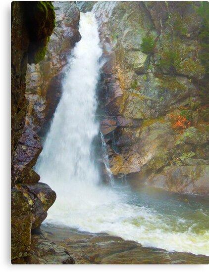 Waterfalls in New Hampshire by ginawaltersdorf