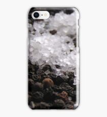 Salt & Pepper the perfect matrimony iPhone Case/Skin
