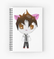 1D Louis Chibi Spiral Notebook
