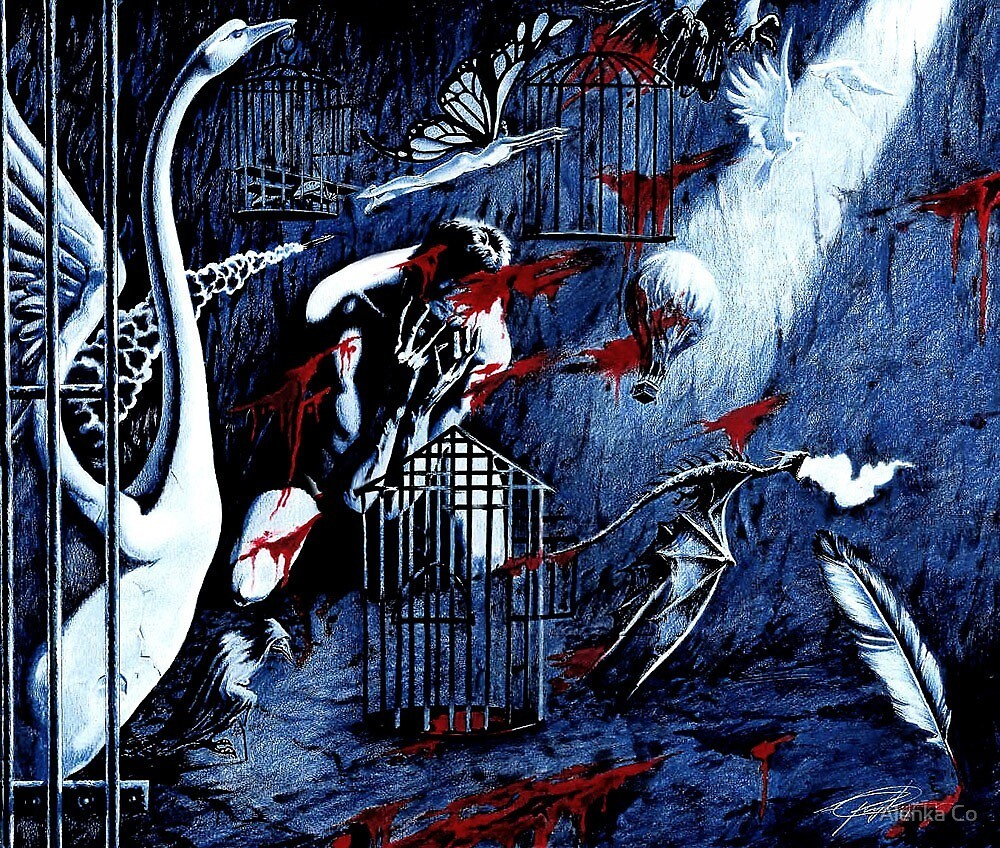 """Cages""  by Sergei Rukavishnikov by Alenka Co"