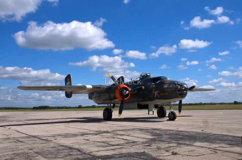 North American B-25 Mitchell Bomber by TeeMack