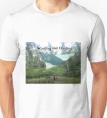 Wwoofing and Doofing - QR07 T-Shirt