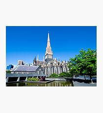 st Patrick Cathedral Photographic Print