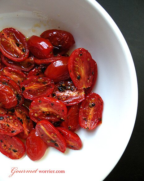 Oven Roasted Cherry Tomatoes by MsGourmet