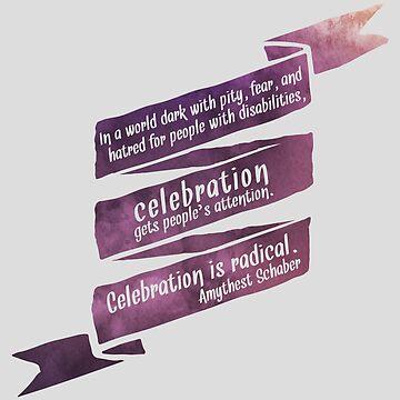 Celebración radical de amythests