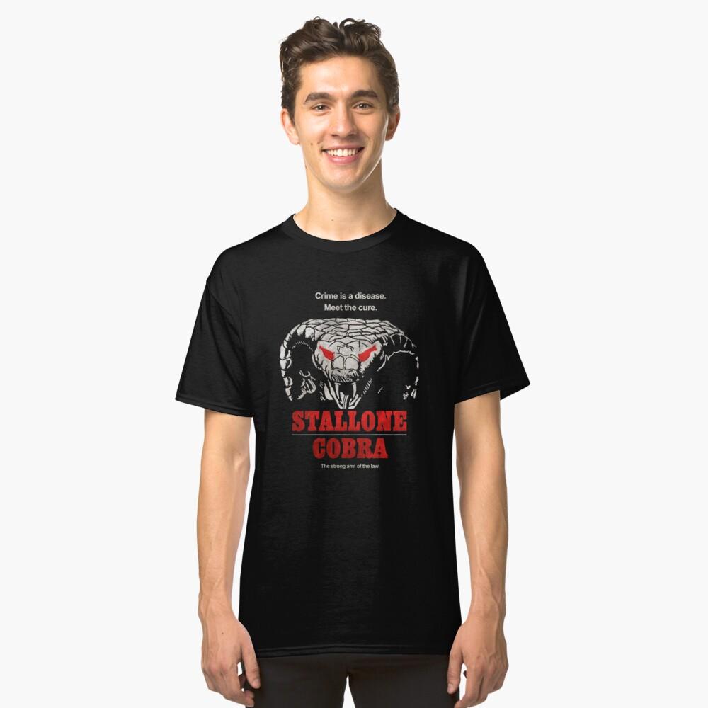 Stallone Cobra Classic T-Shirt Front