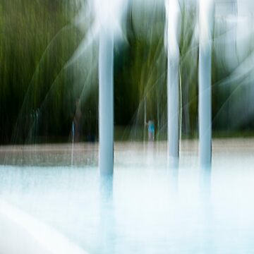 Blue bather by LouD