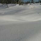Textured Snow Dunes by lifevibrations