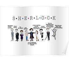 Sherlock Line up Poster
