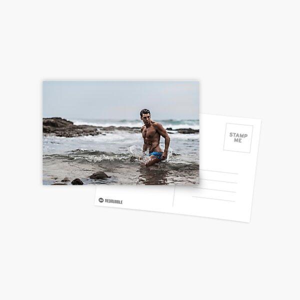 Nic Billington   Ocean Blue  Postcard