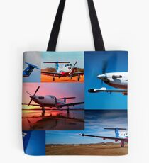 PC12 Montage 01 Tote Bag