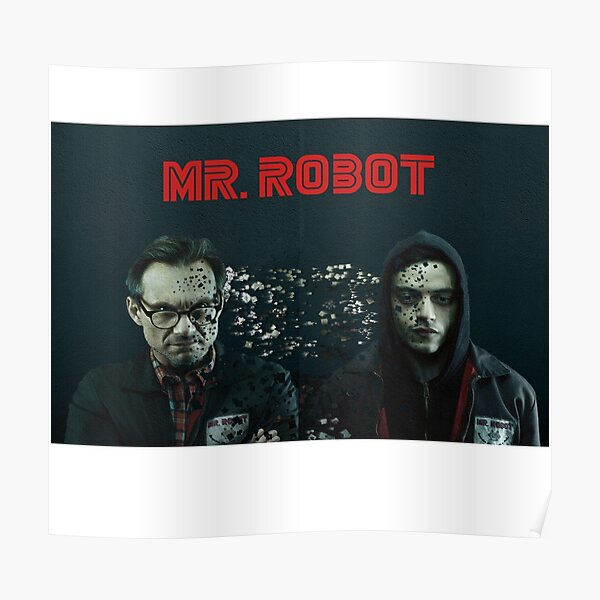Mr Robot and Eliot (Duality) Poster