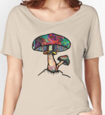 Papa Shroom  Women's Relaxed Fit T-Shirt