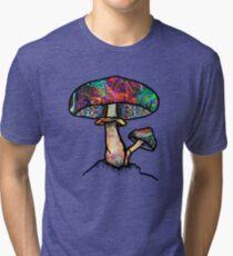 Papa Shroom  Tri-blend T-Shirt