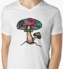 Papa Shroom  Men's V-Neck T-Shirt