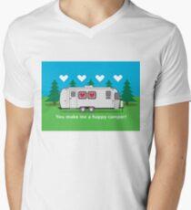 You make me a happy camper! Men's V-Neck T-Shirt
