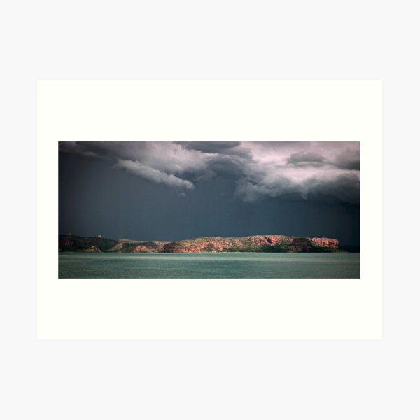 Kimberley Storm 2 Art Print