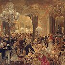 Dinner at the Ball, by Adolph Menzel, 1878 by edsimoneit