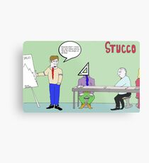 Stucco Corporation Metal Print