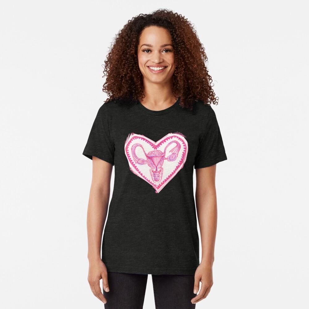 Uterus drawing - 2016 Tri-blend T-Shirt
