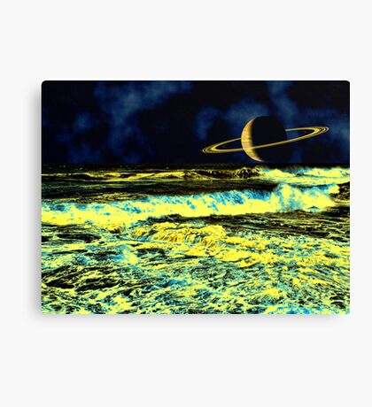 An Inner Glow - A Collaboration Canvas Print