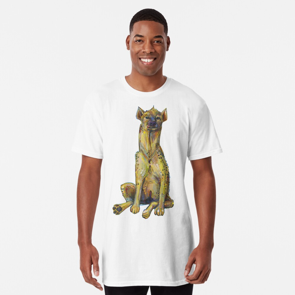 Spotted hyena painting - 2012 Long T-Shirt
