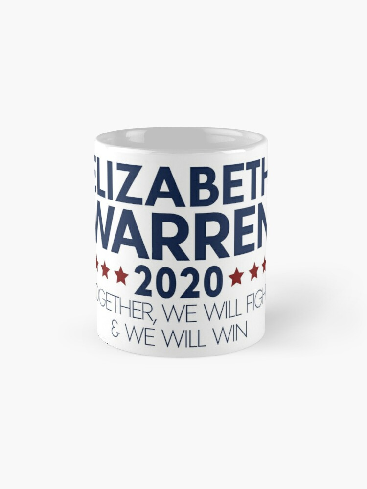 Alternate view of Elizabeth Warren for President 2020 Classic Mug