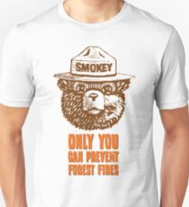 Smokey the Bear Slim Fit T-Shirt