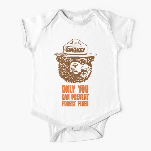 Smokey the Bear Short Sleeve Baby One-Piece