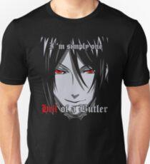 Black Butler Funny TShirt Epic T-shirt Humor Tees Cool Tee Unisex T-Shirt
