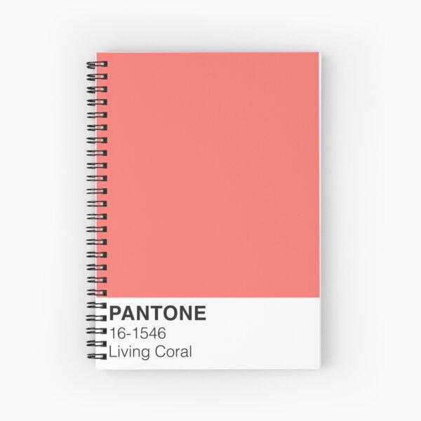 Living Coral Pantone Spiral Notebook