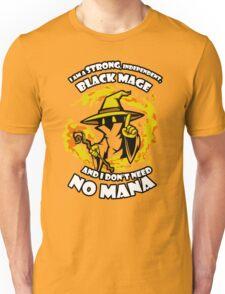 Black Mage Funny TShirt Epic T-shirt Humor Tees Cool Tee Unisex T-Shirt