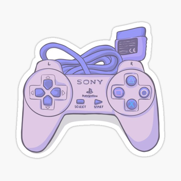 Playstation 1 Pad Pegatina