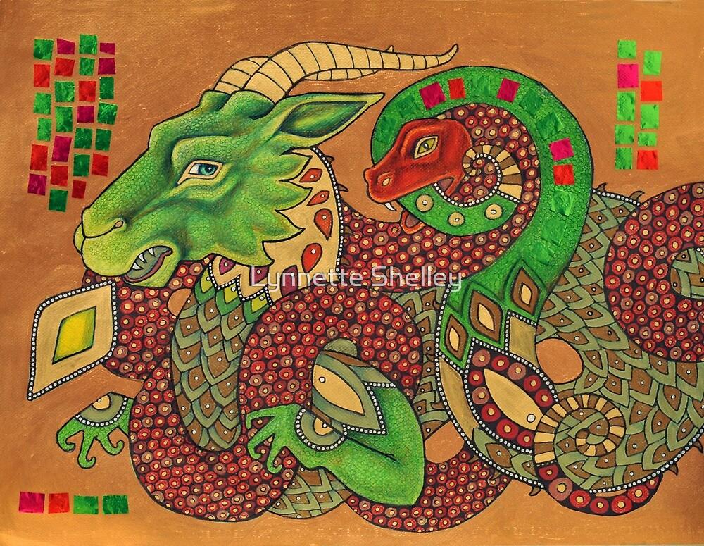 Adversaries II by Lynnette Shelley