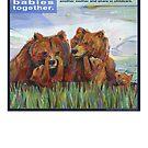 Mama bears (Grizzly bear) by Gwenn Seemel