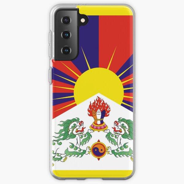 Free Tibet - Tibetan Flag - Peu Rangzen  Samsung Galaxy Soft Case