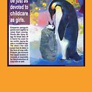 Papa's milk (Emperor penguin) by Gwenn Seemel