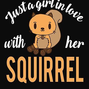 Girl squirrel love by tarek25
