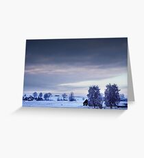 Villagescape Greeting Card