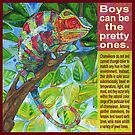 Up on the catwalk (Panther chameleon) by Gwenn Seemel
