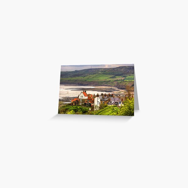 First view of Robin Hood's Bay Greeting Card
