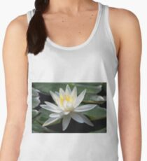 White Water Lily - Gibbs Gardens Women's Tank Top